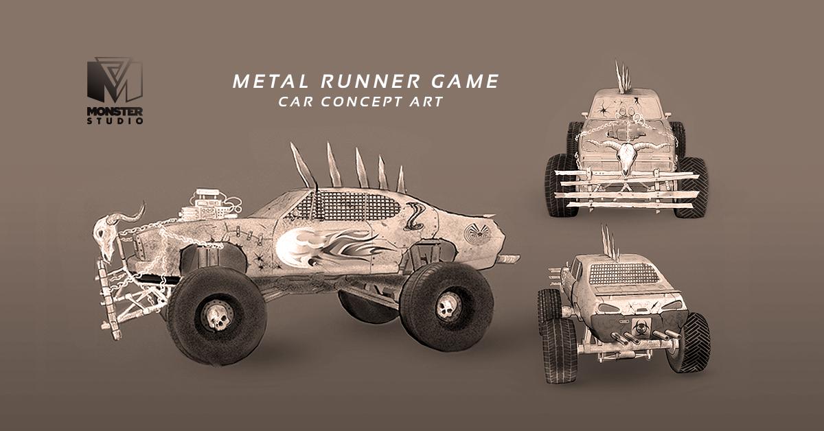 Car - Concept Art
