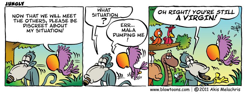 jungly comics by Mel