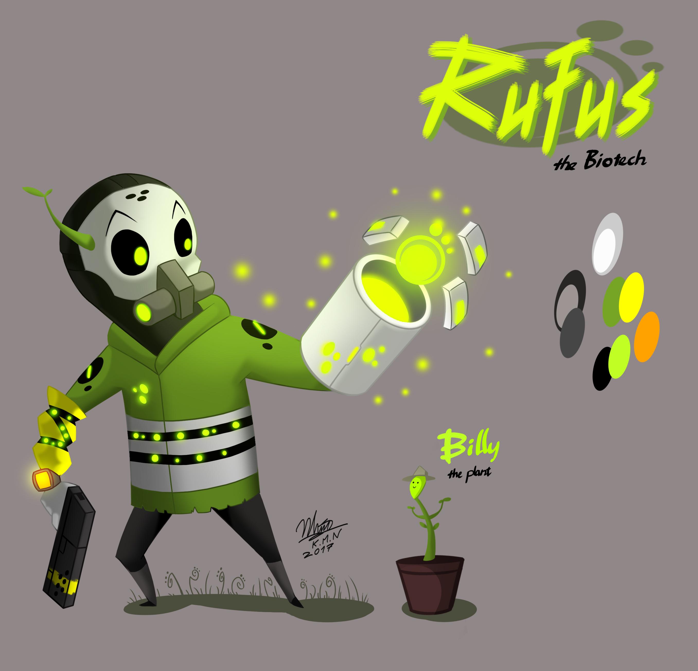 Rufus - New design