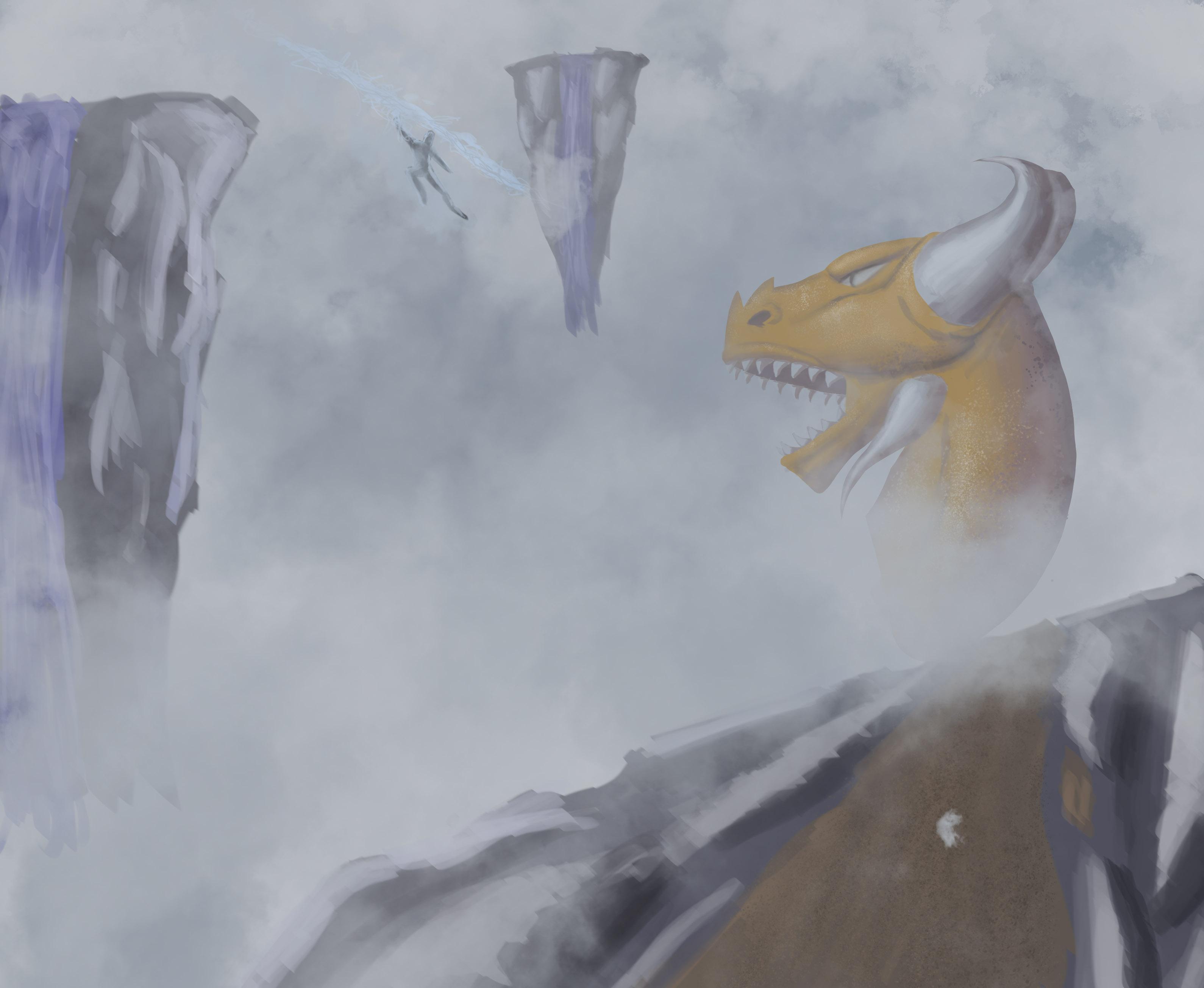 dragon v lighting guy