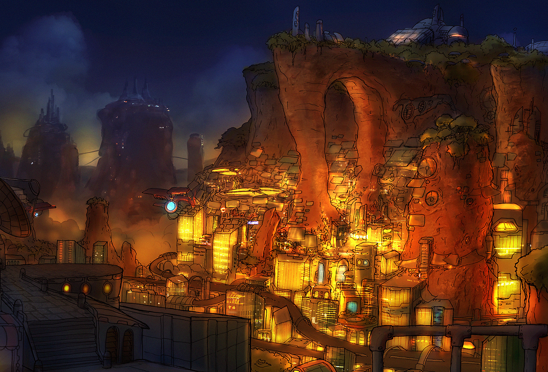 Cityvalley Night