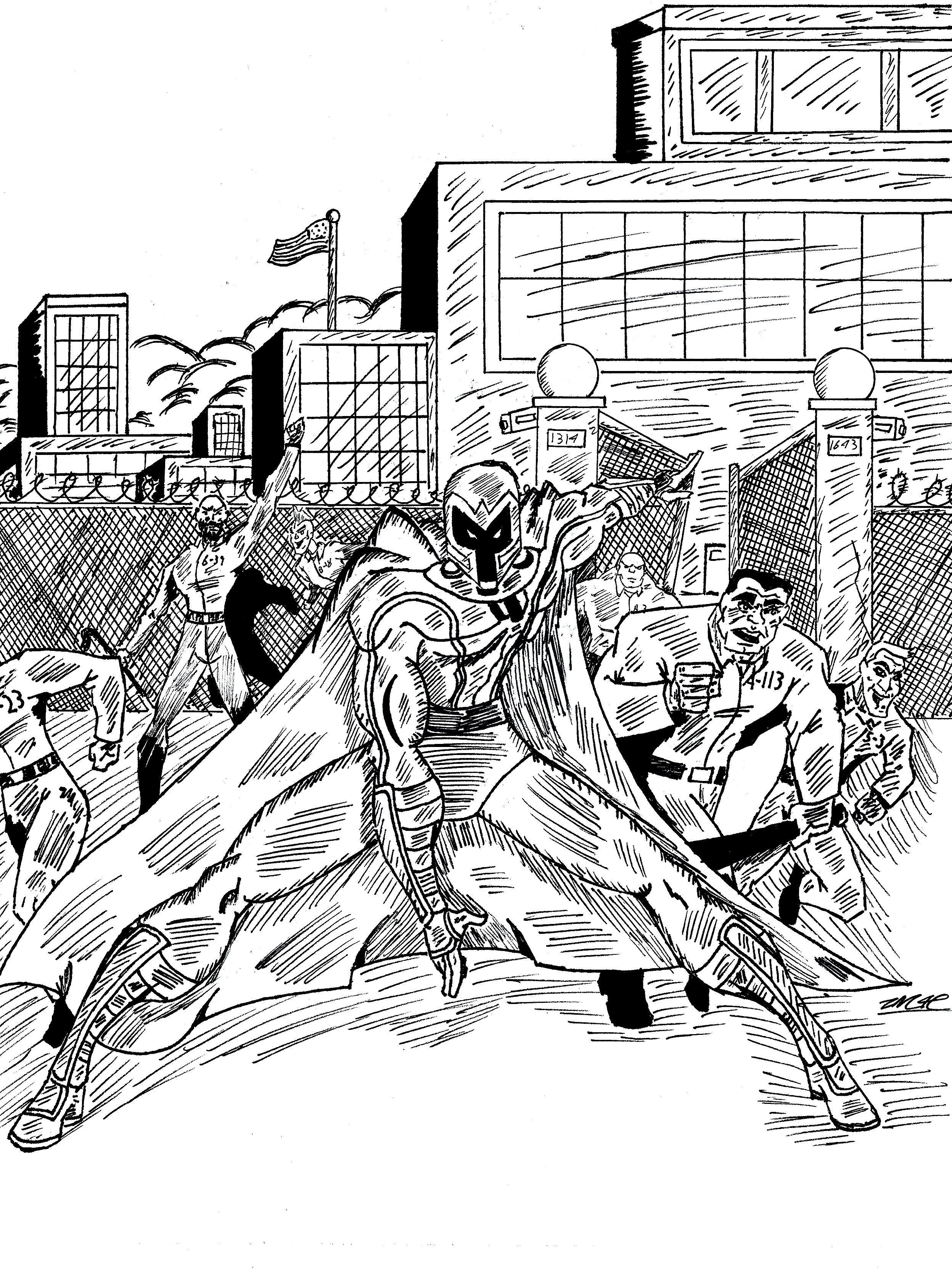 Magneto prison riot