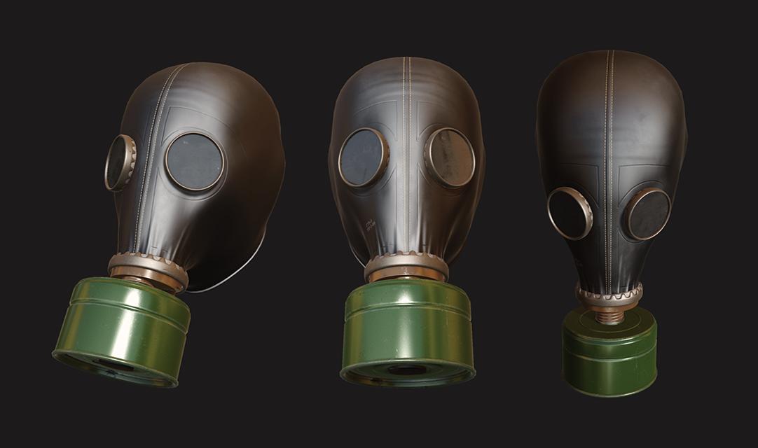 Russian Gas Mask (GP-5)