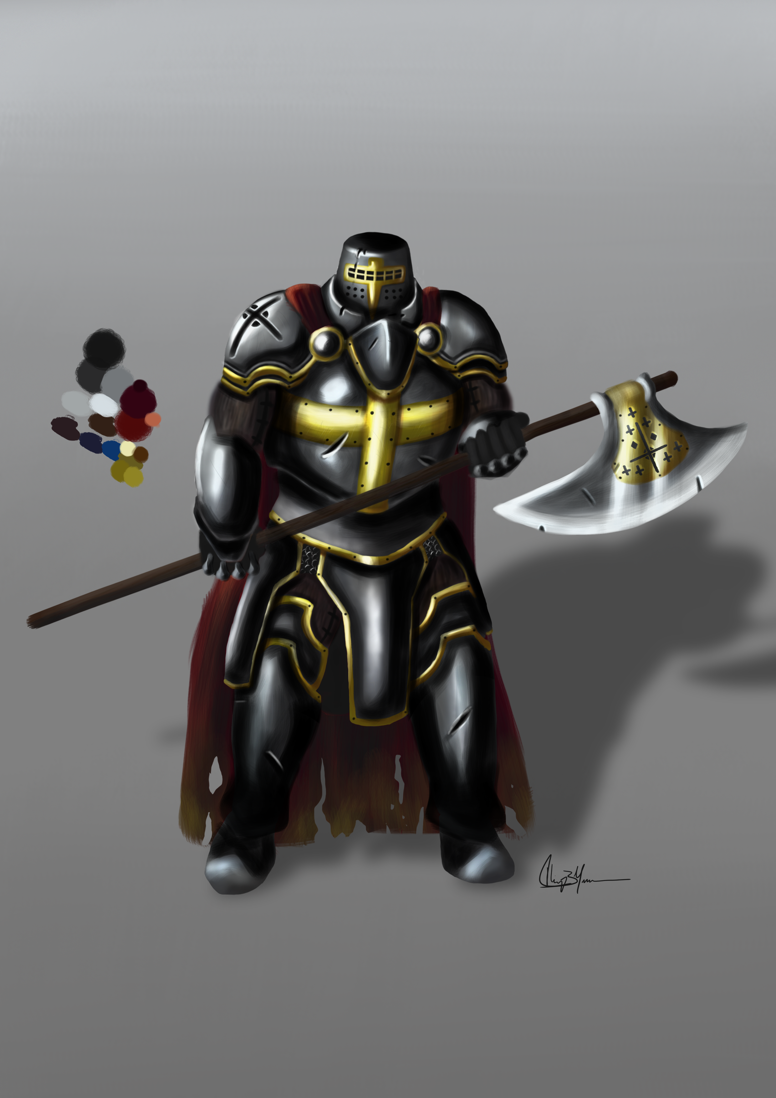 Character Concept: Knight