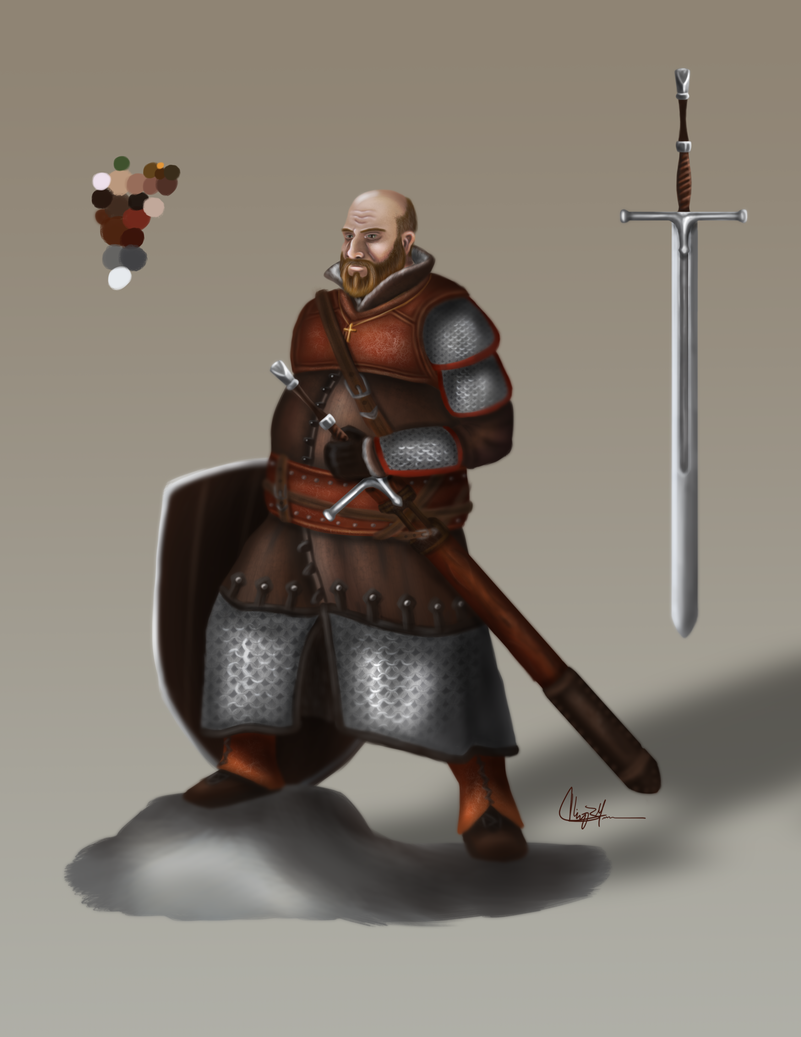 Character Concept: Warrior
