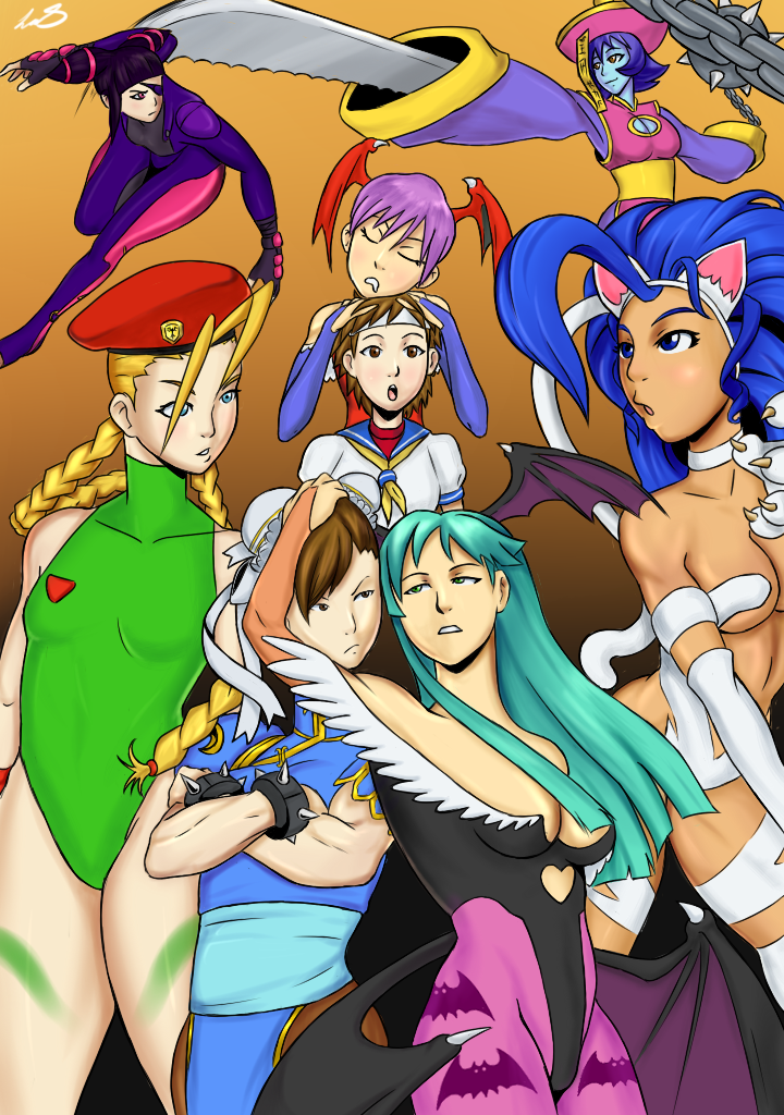 Street Fighter vs Darkstalkers submission