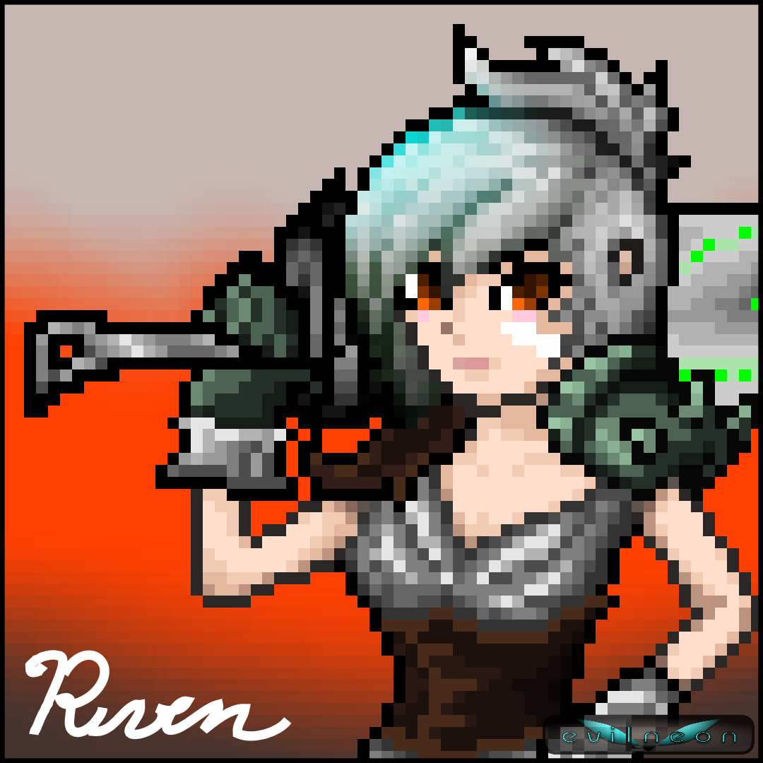 Riven - League of Legends Pixel Art!