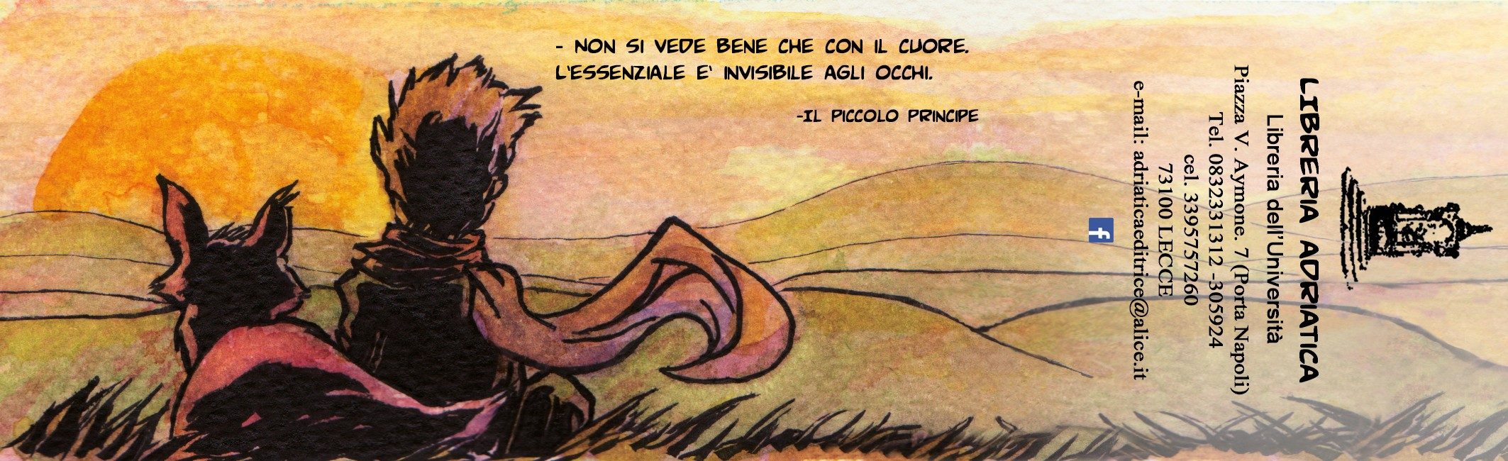 BOOKMARK for a library - Le Petit Prince (commission)