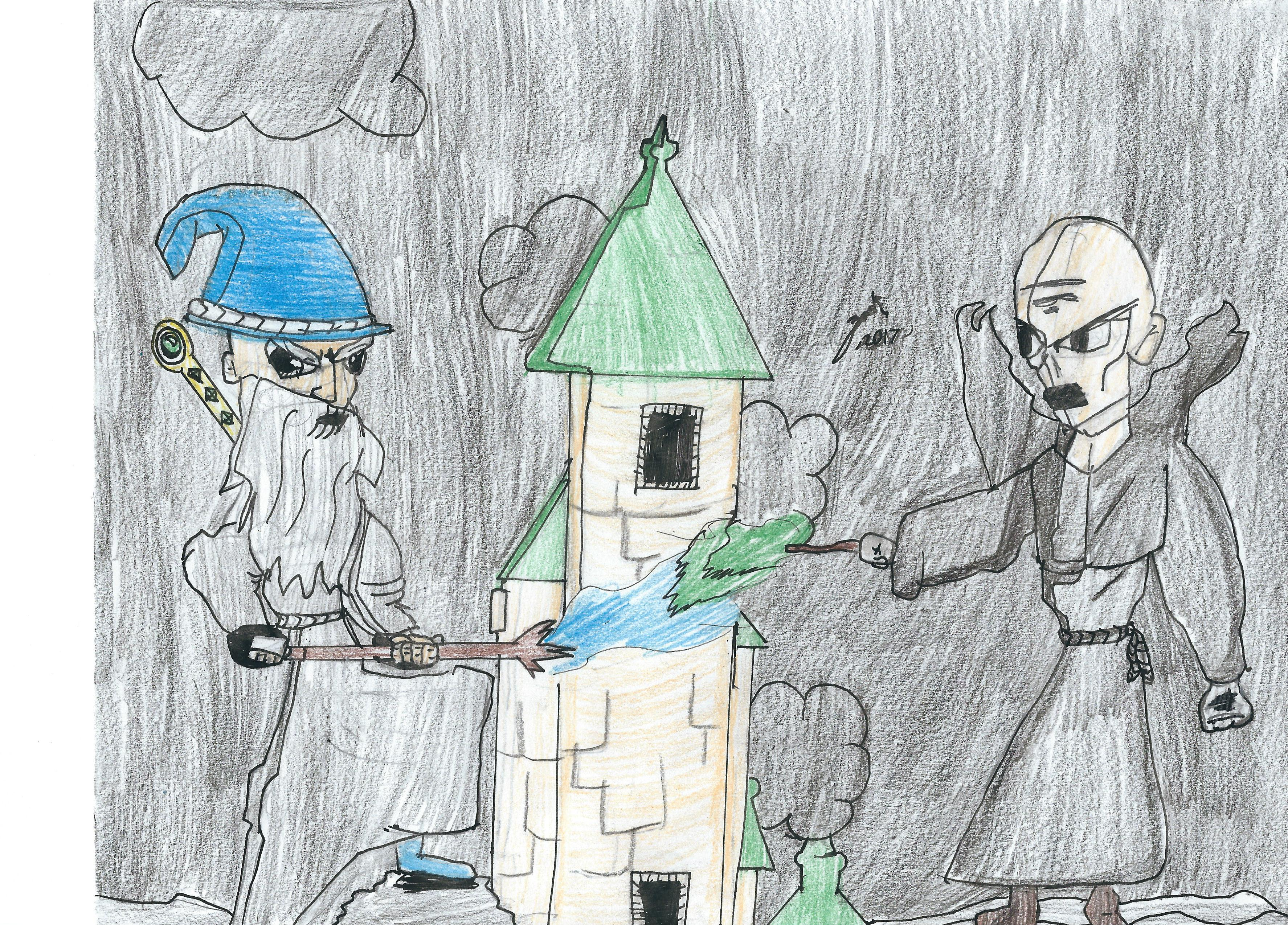 Gandalf vs. Voldemort