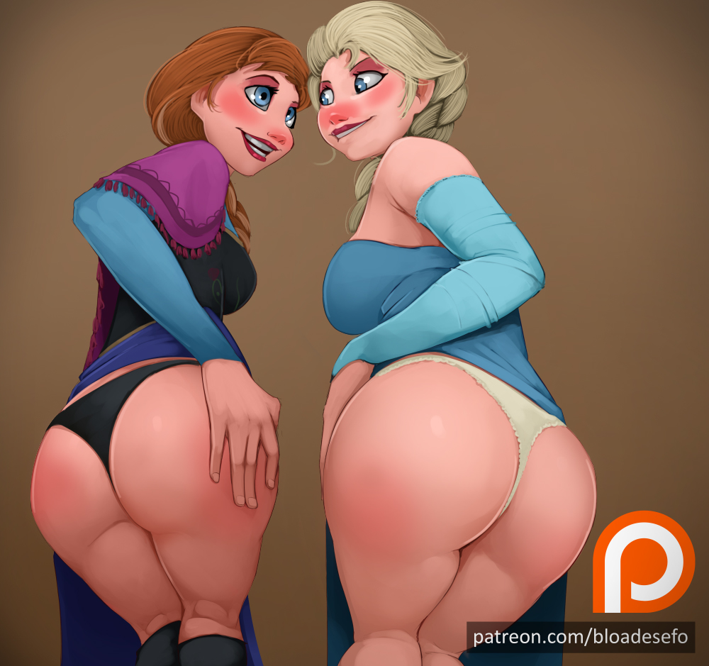 Elsa and Anna - My Patreon