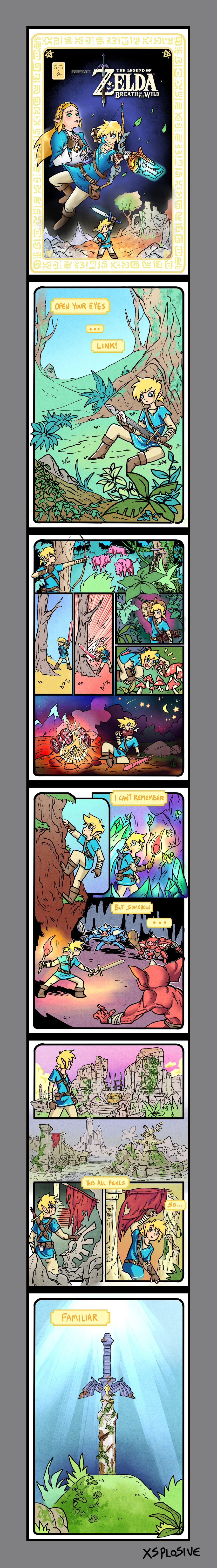 Breath of The Wild Comic