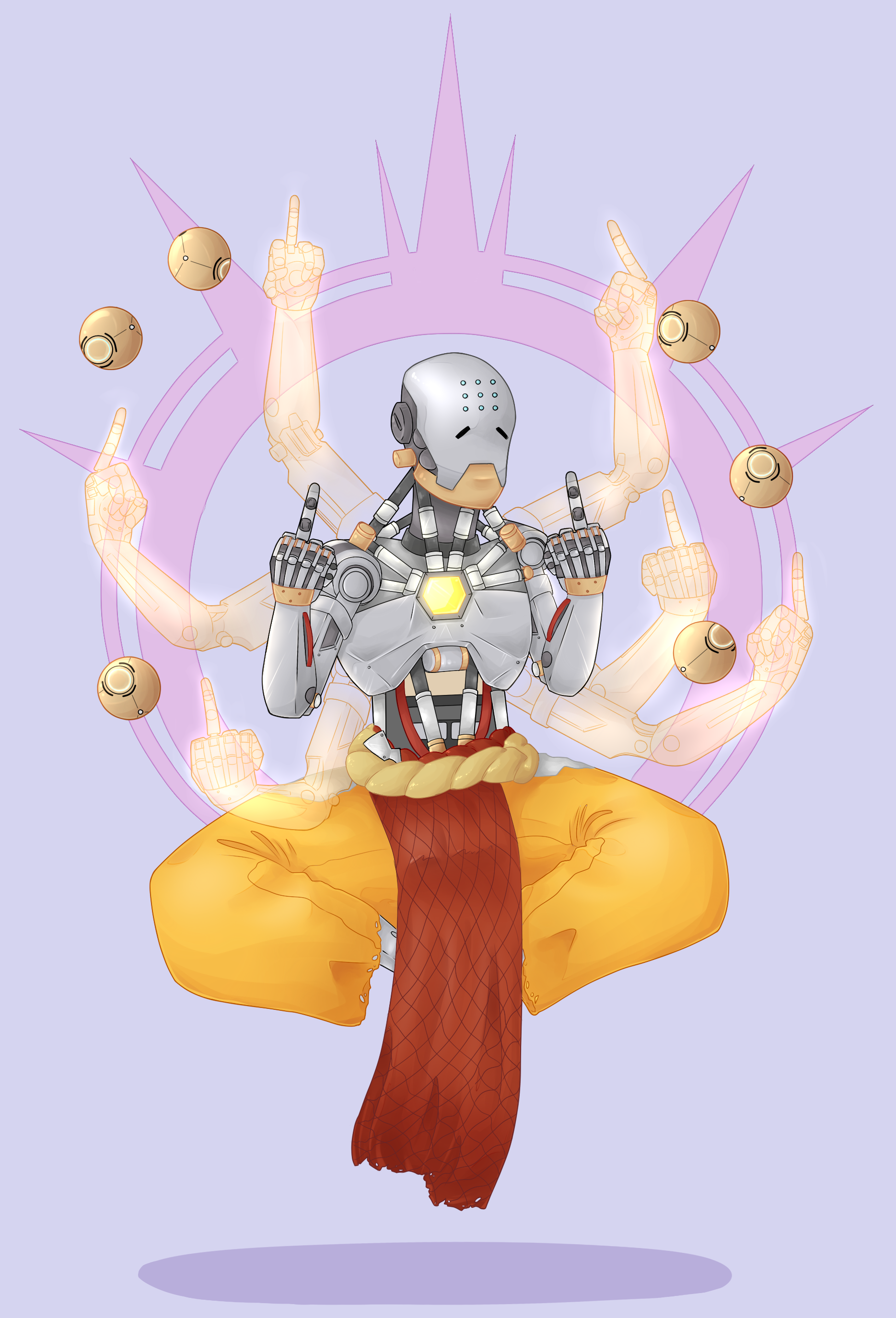Zenyatta - Proceed without fear