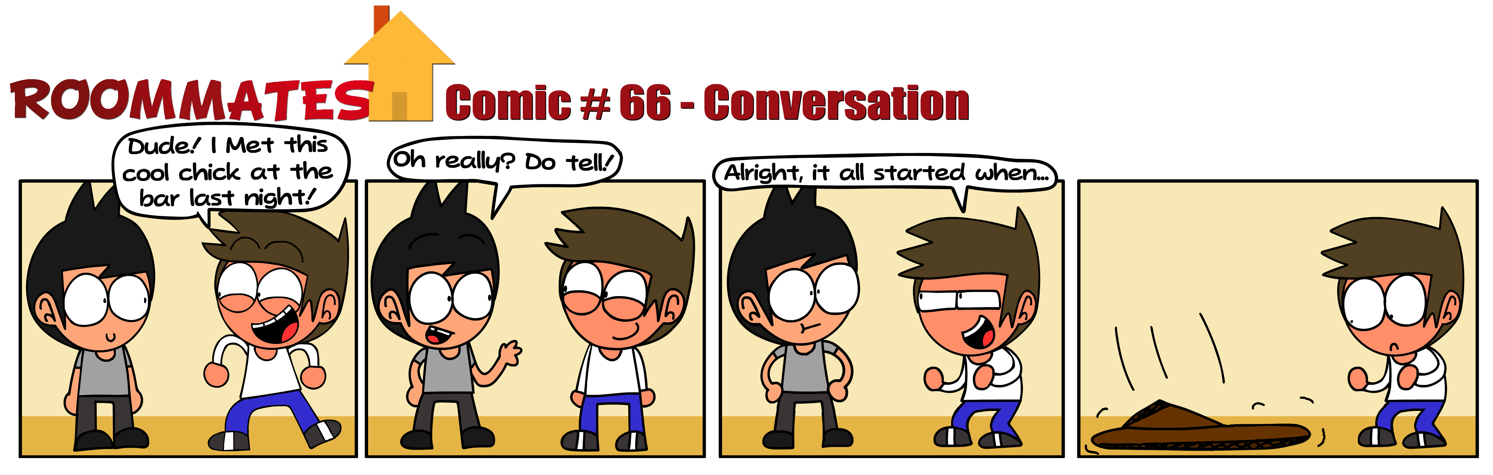 Roommates - Conversation (Comic #66)
