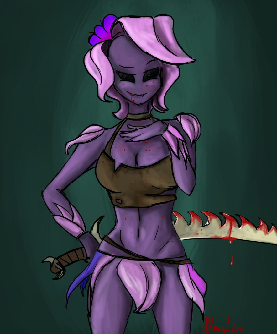 Orchid the Floran