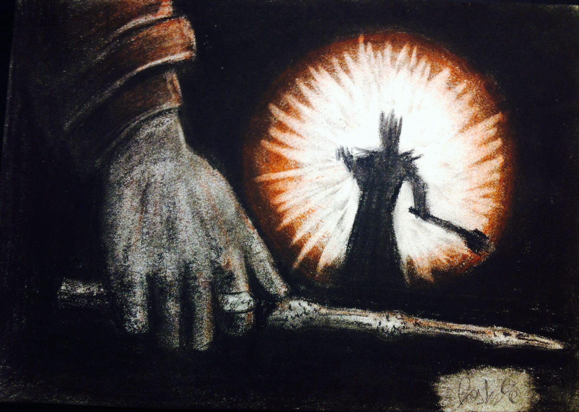 Sauron upon Hogwarts cotmloth
