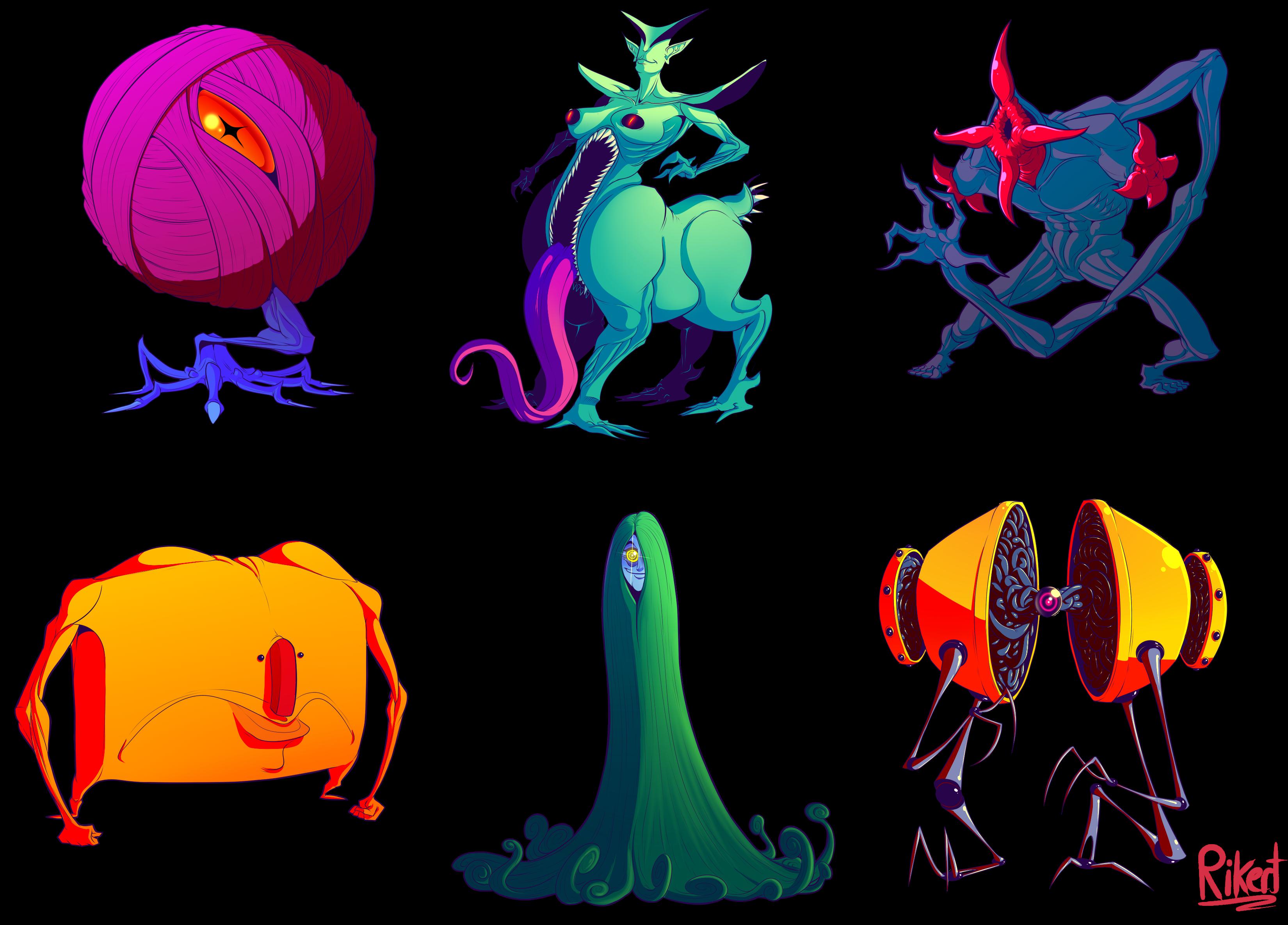 Monster Doodles Vol 2