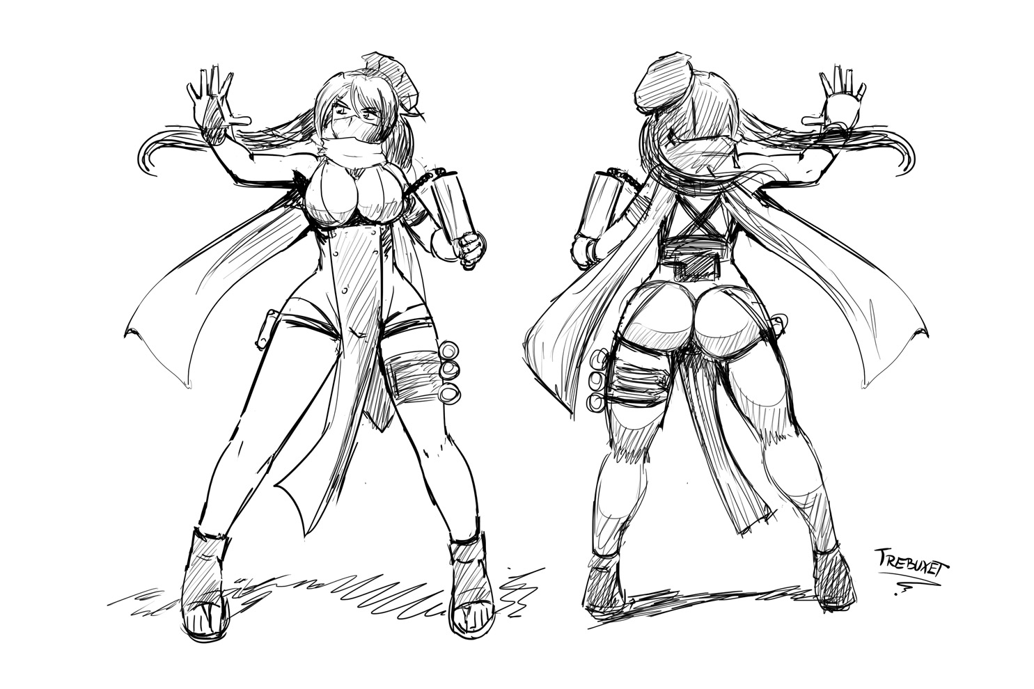 Ninja Pastry Chef Sketch
