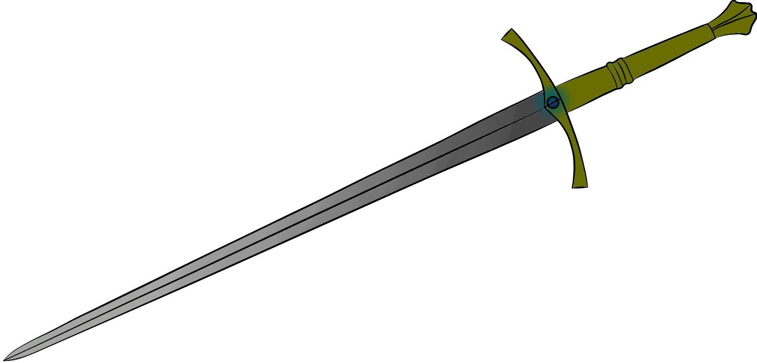 Long sword shading