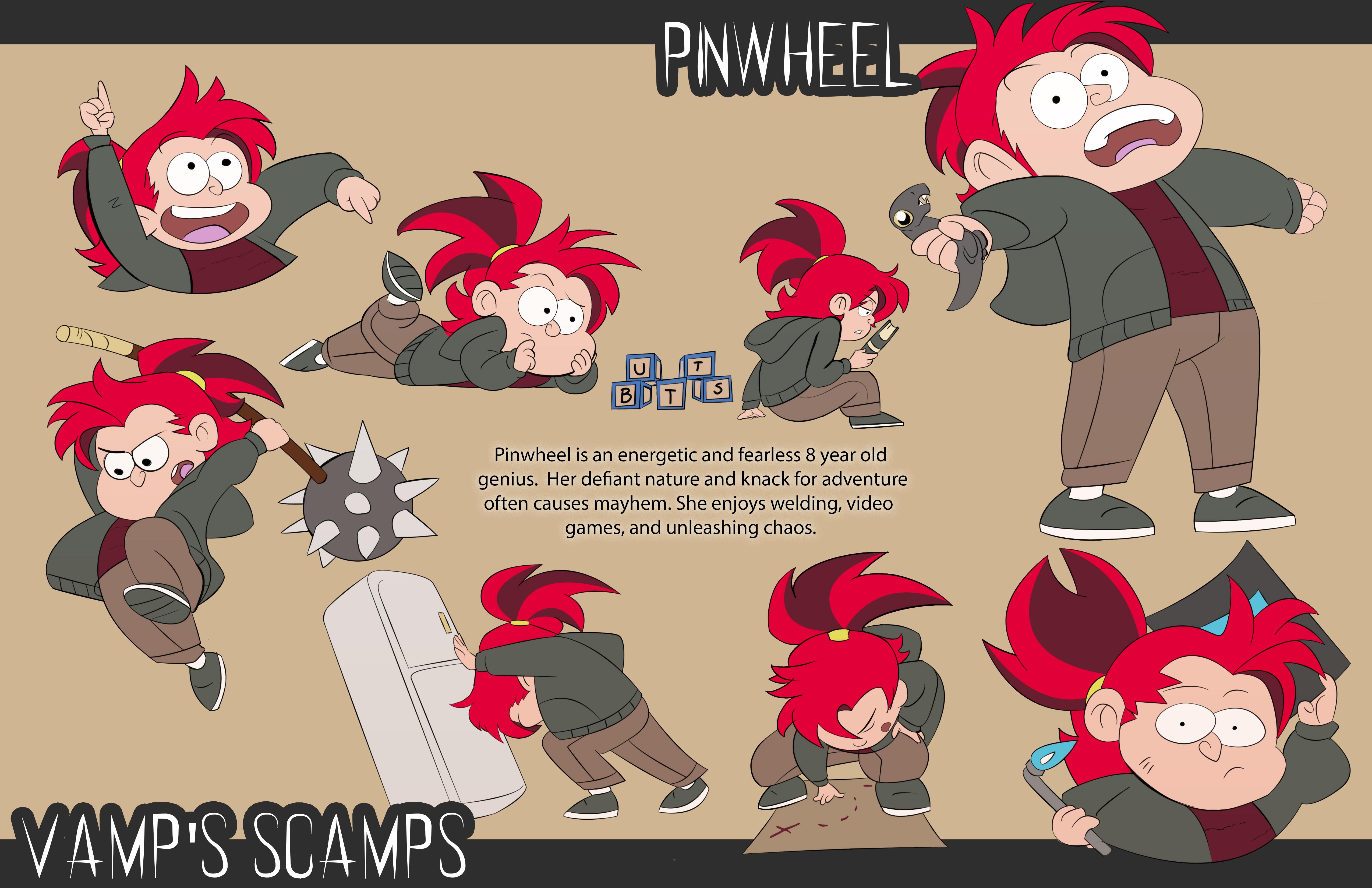 Pinwheel Character Sheet
