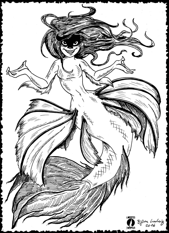 Fighting Betta Mermaid