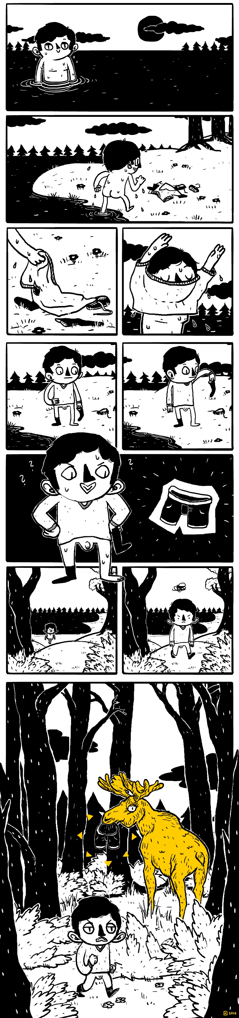 Down by the lake (Comic)