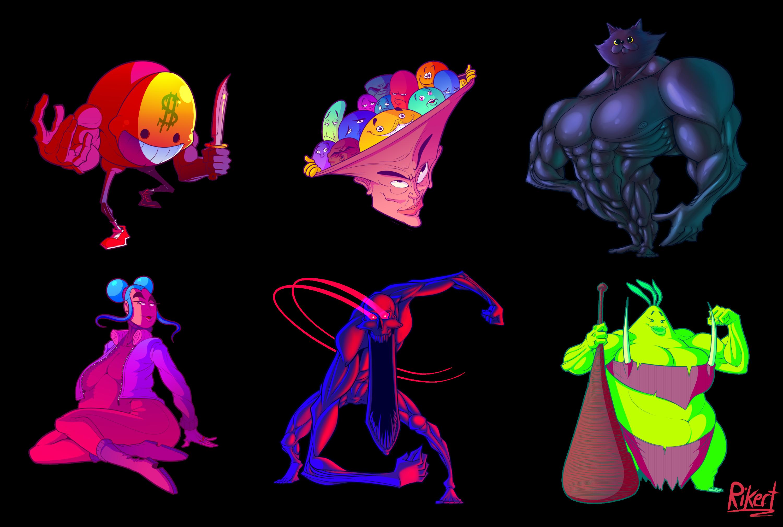 Monster Doodles Vol 3