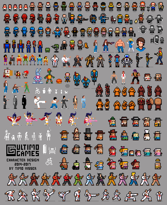Ultimo Games Characters