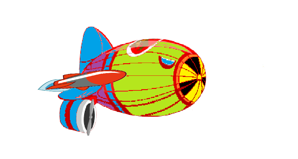 When You Try to Make Art with MS Paint - The Enormous Vibrant Anti-Gravity Nuke