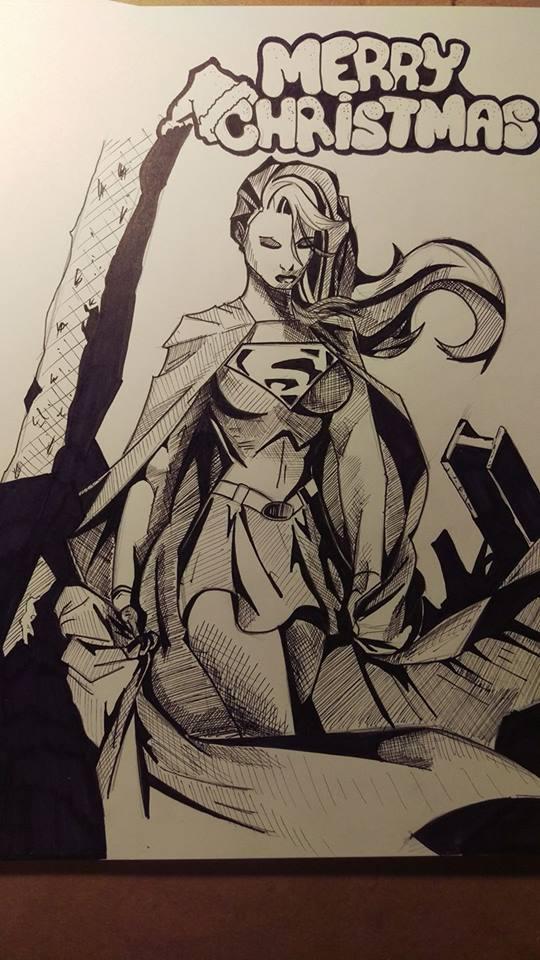 Merry Christmas Supergirl