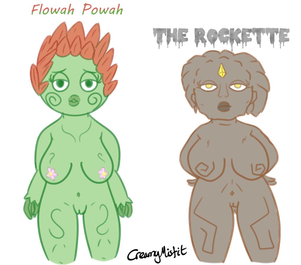 Flower and Rock Shortstack