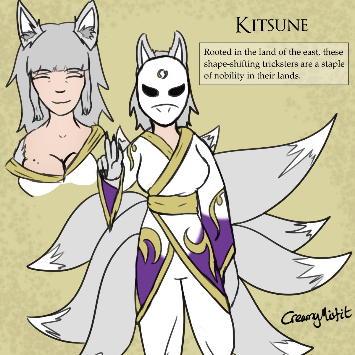 Kitsune Mythos