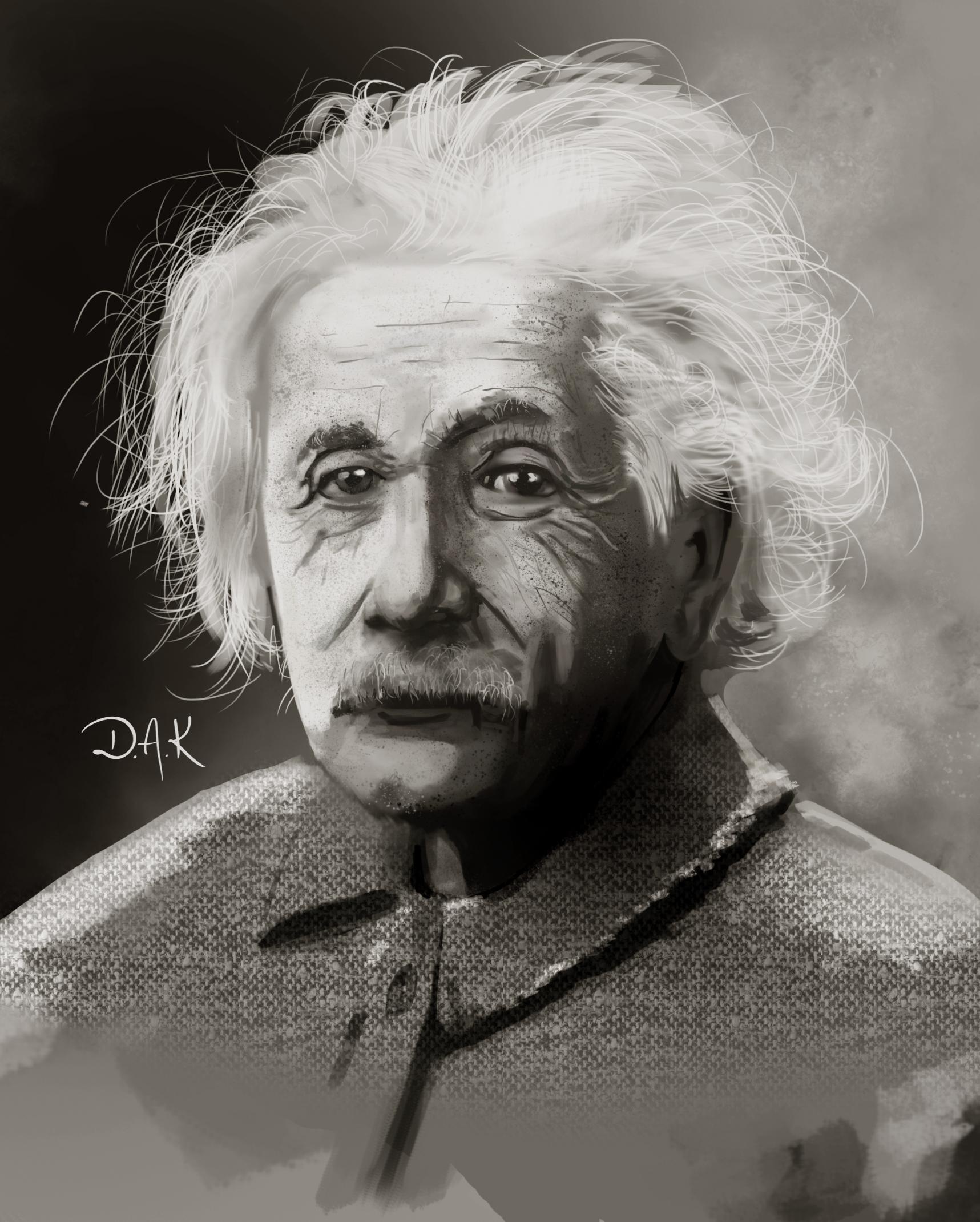 Einstein (Speed painting)