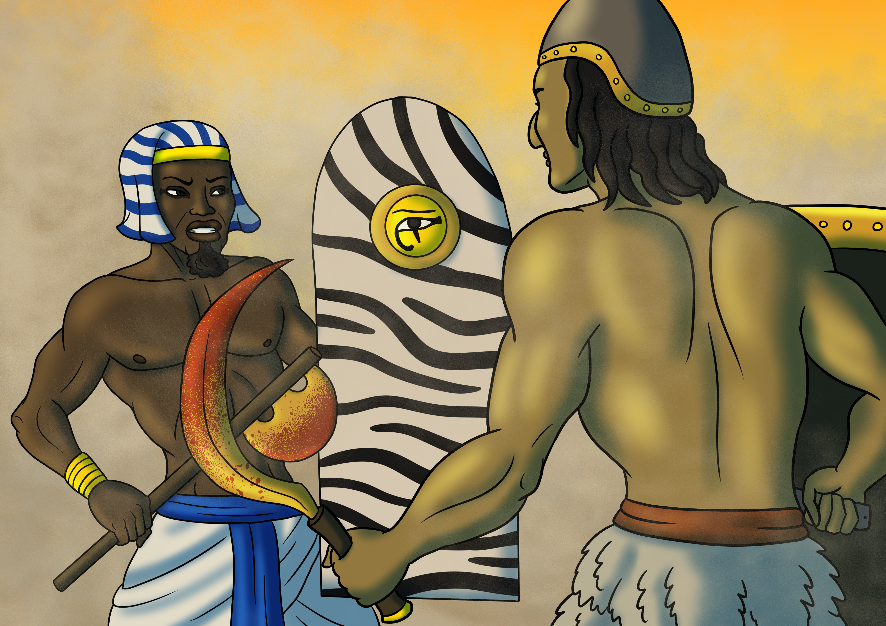 Egyptian Versus Sumerian