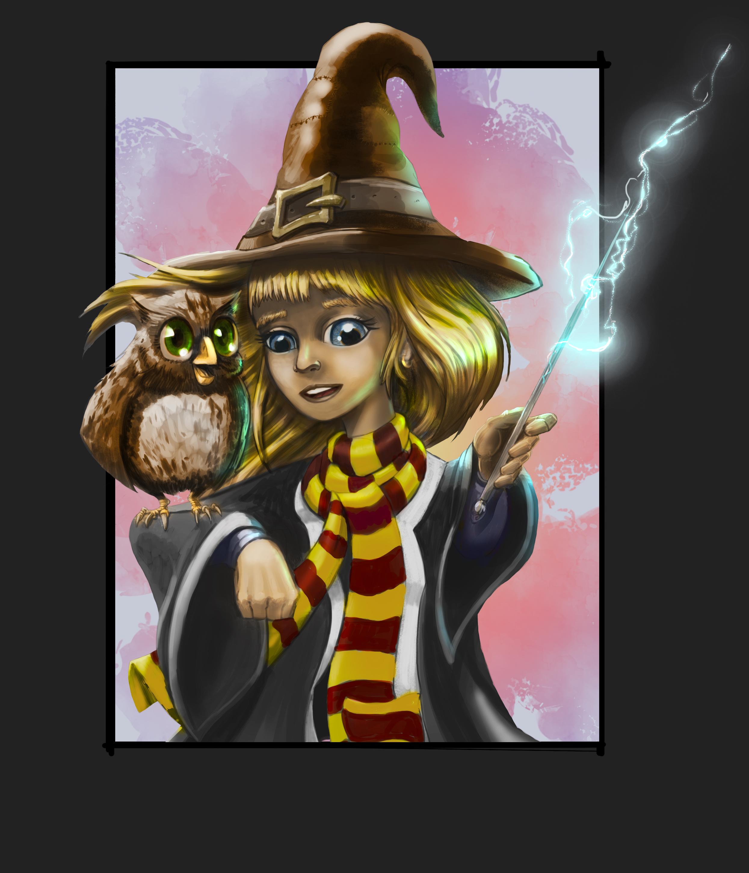 Hermione Granger from Harry Potter fanart
