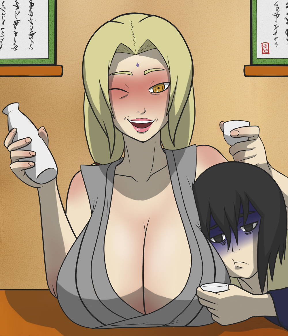 Drinking with Tsunade