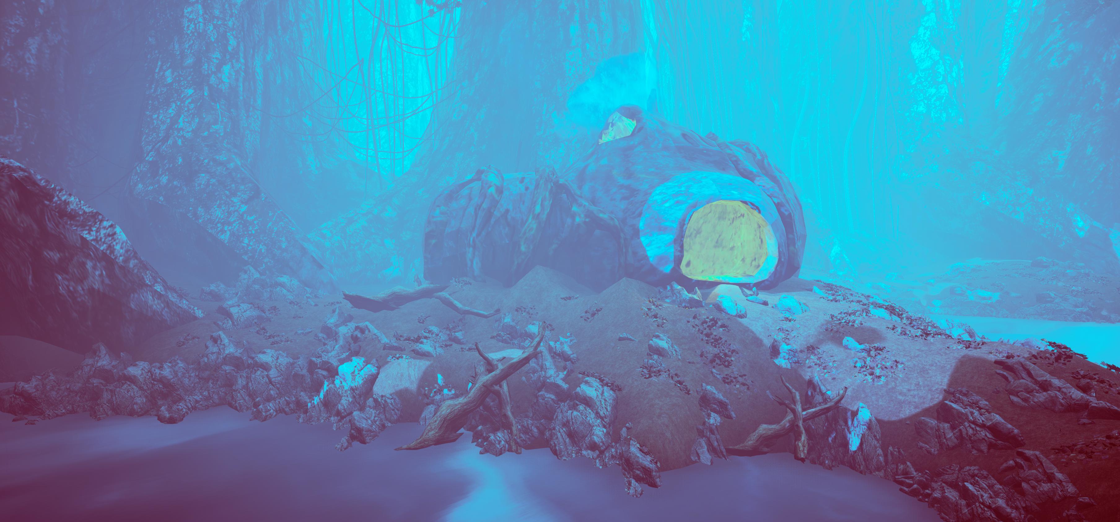 Yoda's Hut in Dagobah