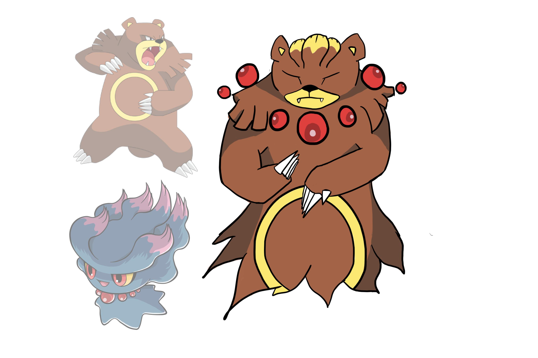 Pokemon Fusion - Ursareavus