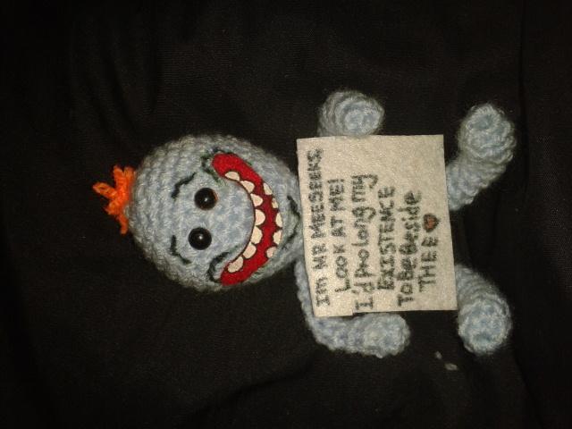 Crochet Mr Meeseeks