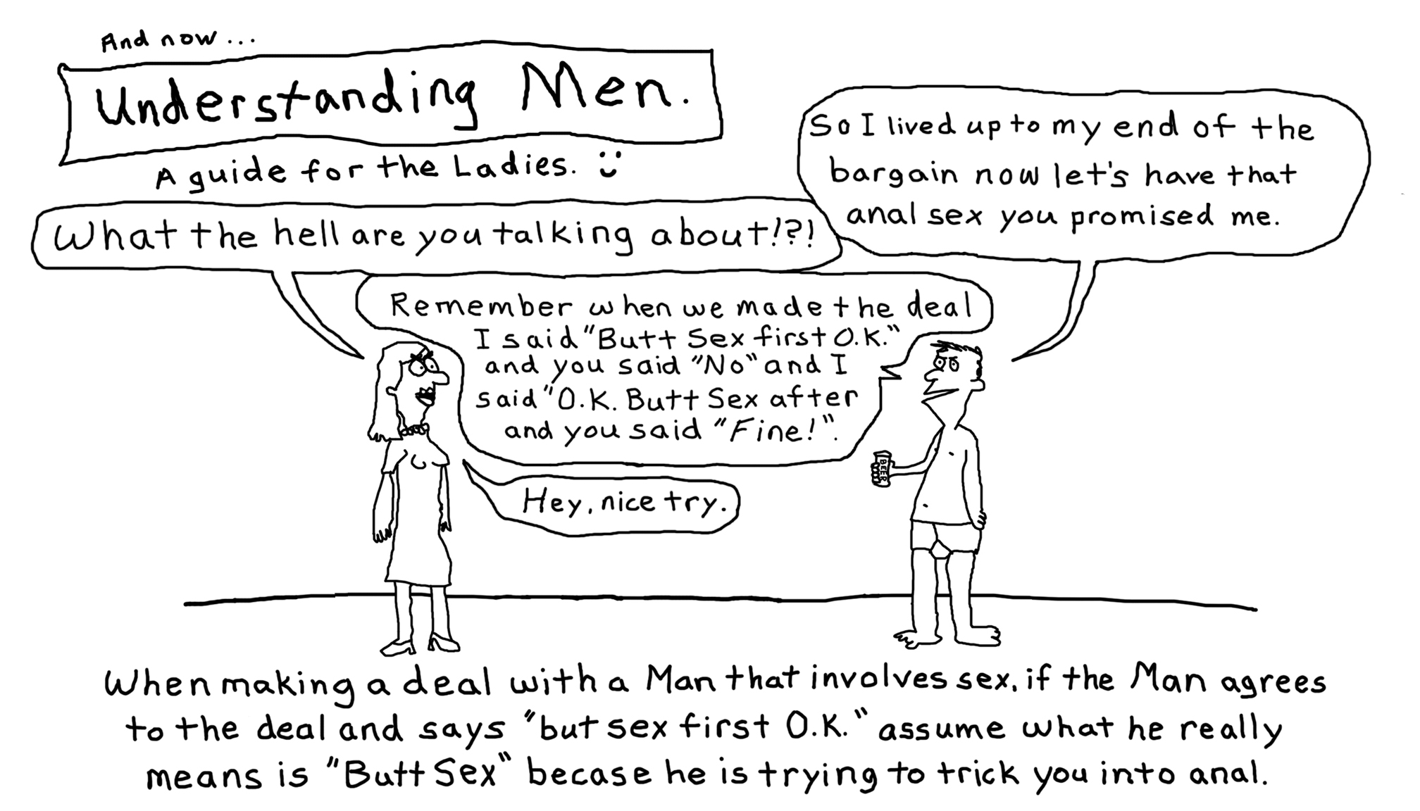 Understanding Men #5