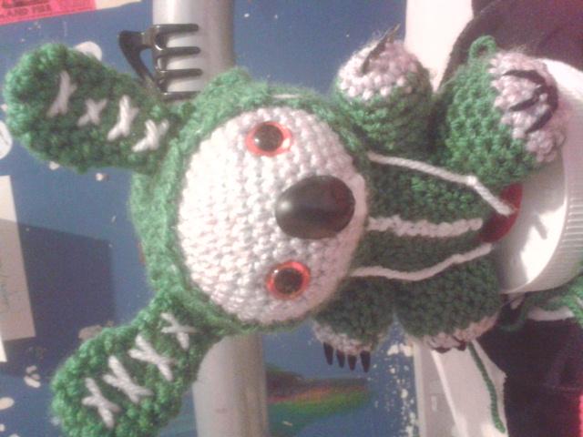 Crochet Koala bunny
