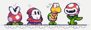 It's a me Mario Enemies