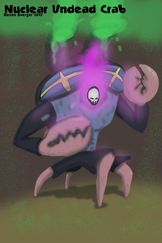 Nuclear Undead Crab