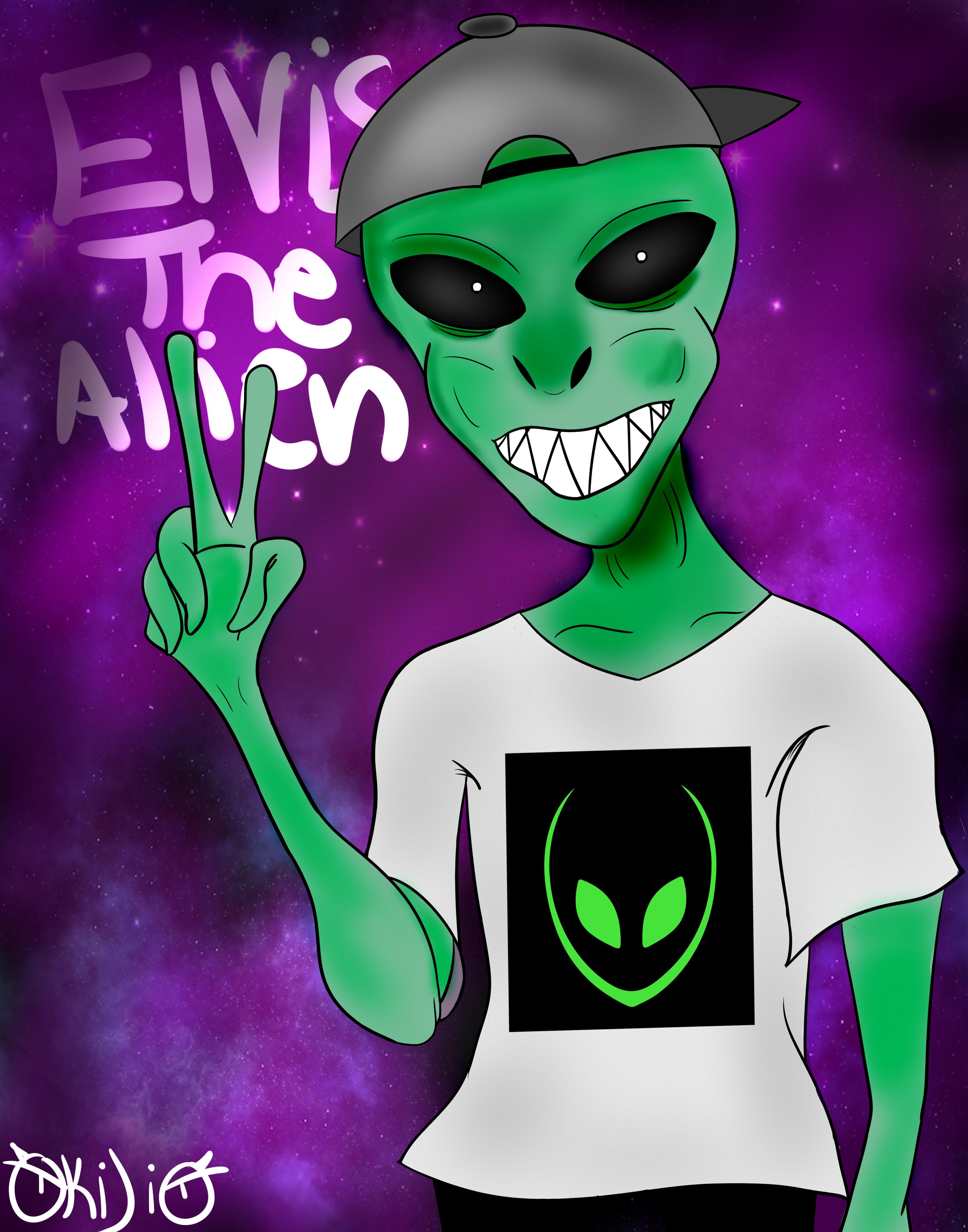 Elvis the Alien Fanart