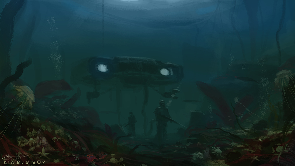Uncharted seabed exploration