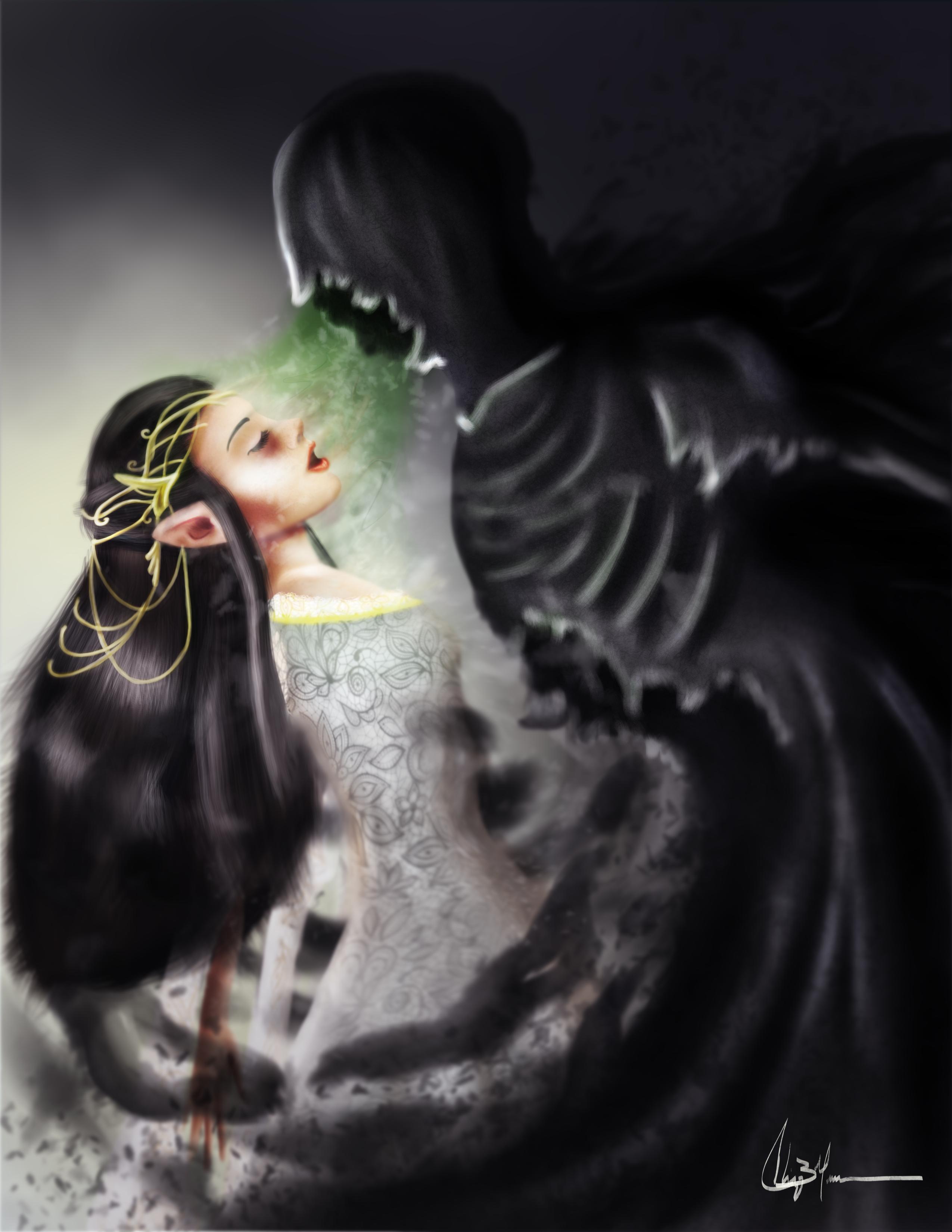 A Kiss of Mortality - COTMLOTH entry