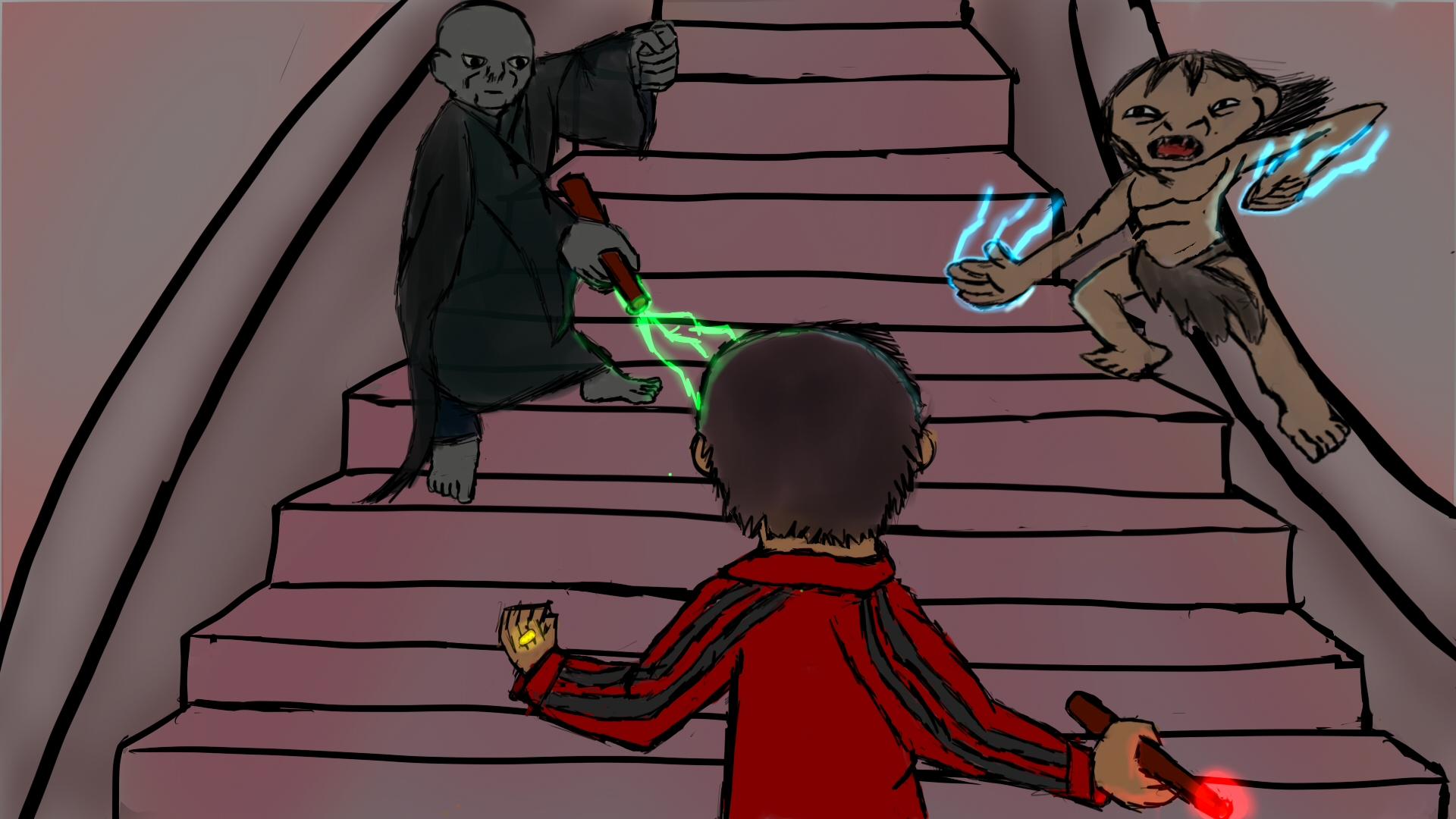 Stairway Clash