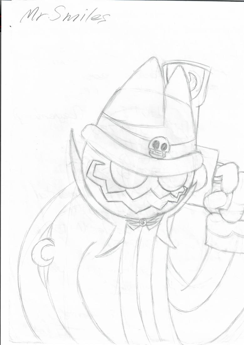 Mr. Smiles (Sketch)