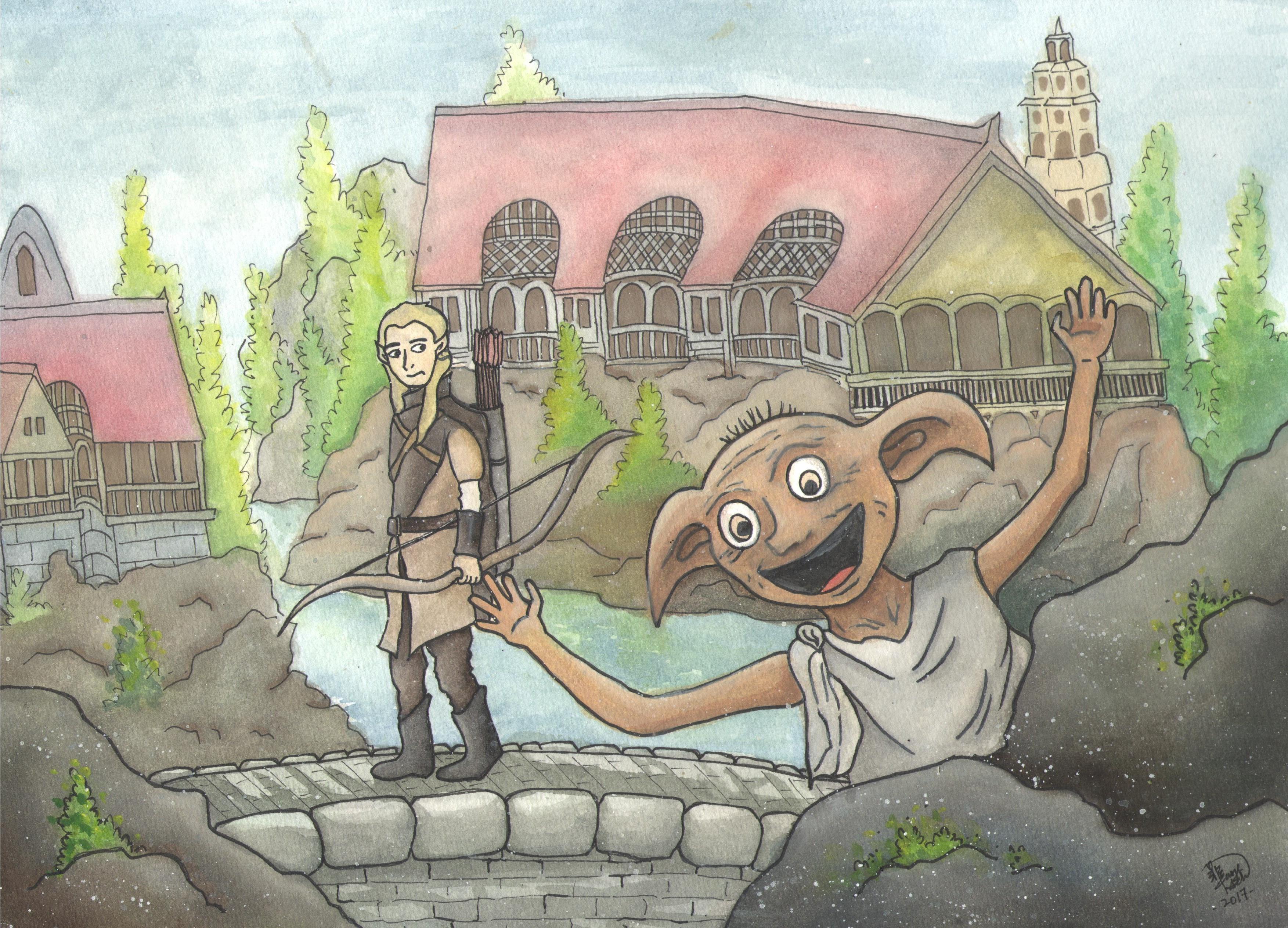 Dobby's Visit to Rivendell