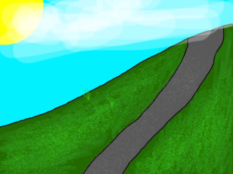 Grassy Hill Background (01)