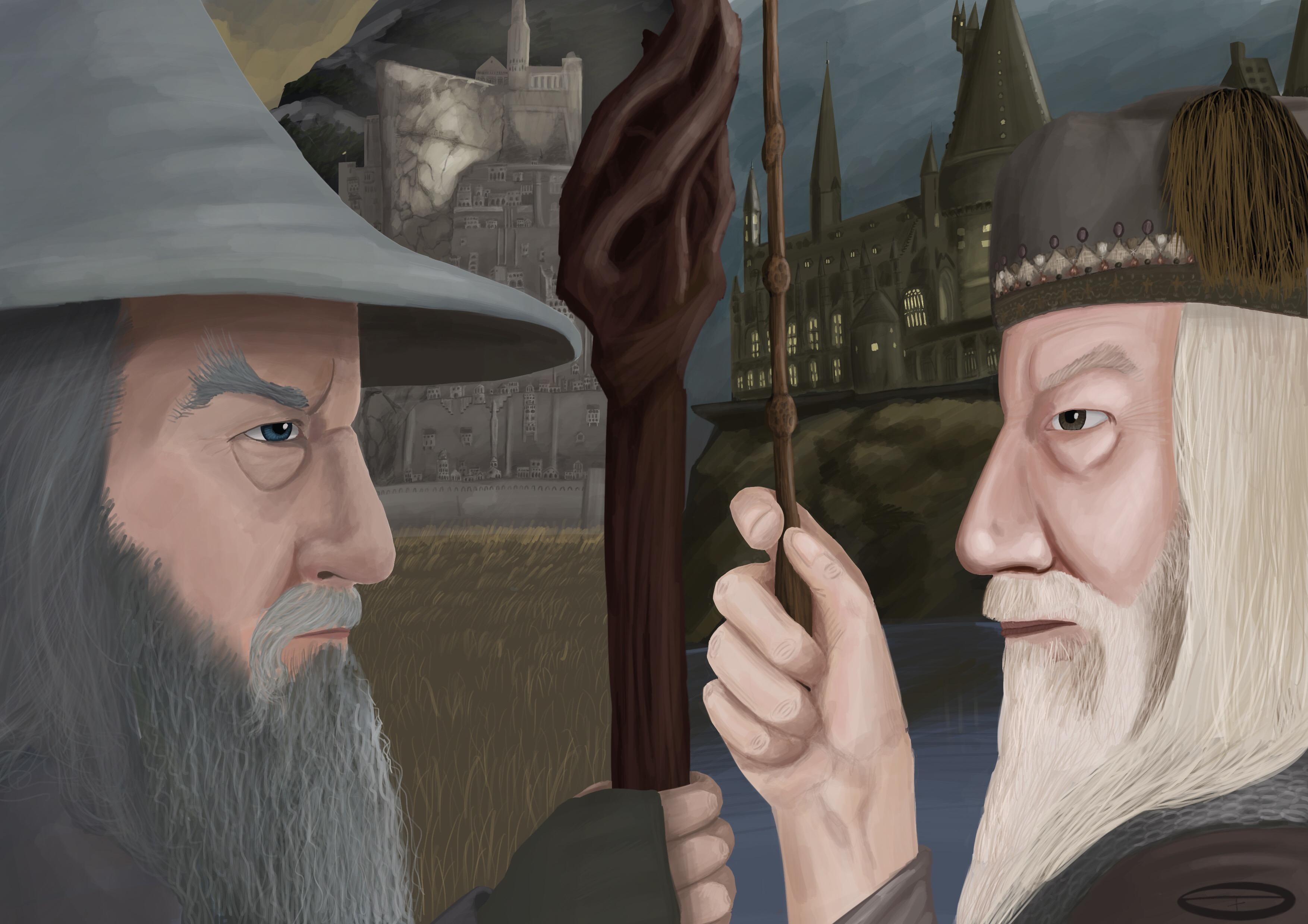 Gandalf vs Dumbledore